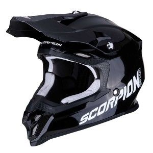 Scorpion Crosshelm VX-16 Solid Black