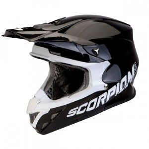 Scorpion Crosshelm VX-20 Air Solid Black-L