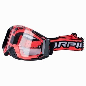 Scorpion Crossbril E-18 Neon Red/Black