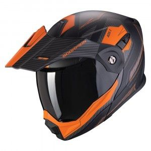 Scorpion ADX-1 Enduro Systeemhelm Tucson Orange/Black