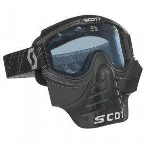 Scott Crossbril 83X Safari Facemask Black Clear lens