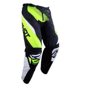 Shot Kinder Crossbroek Devo Ultimate Black/Neon Yellow
