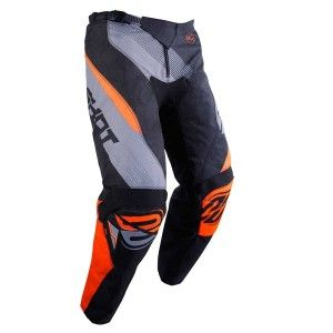 Shot Kinder Crossbroek Devo Ultimate Black/Neon Orange