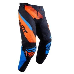 Shot Kinder Crossbroek Devo Ultimate Blue/Neon Orange