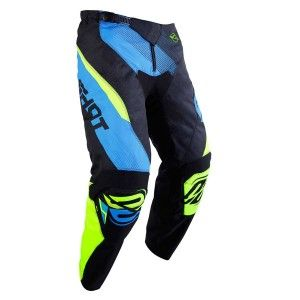 Shot Kinder Crossbroek Devo Ultimate Blue/Neon Yellow