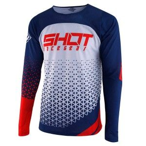 Shot Crossshirt Aerolite Delta Blue/Red
