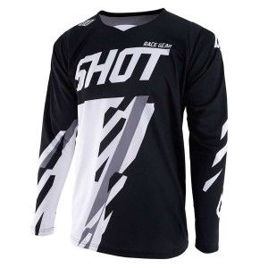 Shot Crossshirt Contact Score Black/White