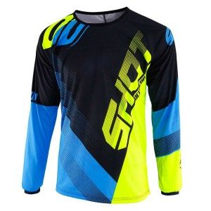 Shot Kinder Crossshirt Devo Ultimate Blue/Neon Yellow