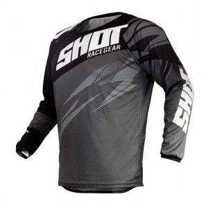 Shot Crossshirt Devo Ventury Black/Grey