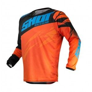 Shot Crossshirt Devo Ventury Orange/Cyan