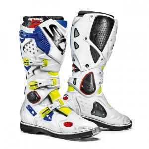 Sidi Crosslaarzen Crossfire 2 Yellow Fluor/White/Blue