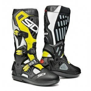 Sidi Crosslaarzen Atojo SRS Black/Fluor Yellow