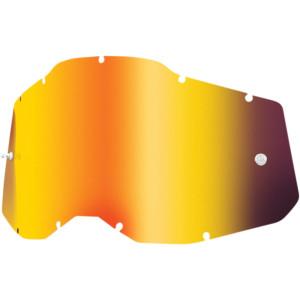 Spiegel Lenzen Voor De 100% Racecraft/Accuri/Strata 2 Crossbrillen