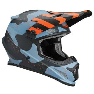 Thor Crosshelm Sector Mosser Blue Camo Matt