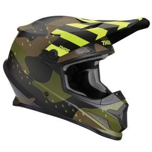 Thor Crosshelm Sector Mosser Green Camo Matt