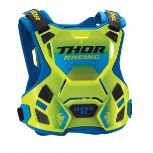 Thor Body Protector Guardian MX Fluor Green