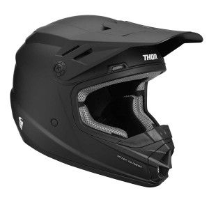 Thor Kinder Crosshelm Sector Matt Black