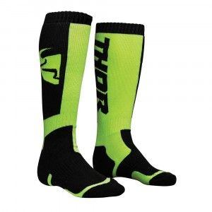 Thor Kinder Crosssokken MX Black/Lime