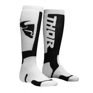 Thor Crosssokken MX White/Black