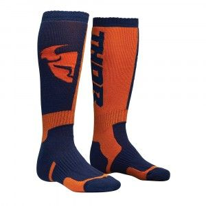 Thor Crosssokken MX Navy/Orange