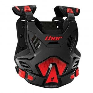 Thor Body Protector Sentinel GP Black/Red