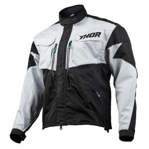 Thor Enduro Jas Terrain Light Gray/Black
