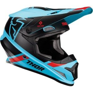 Thor Crosshelm Sector Split MIPS® Black/Blue
