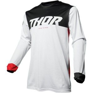 Thor Crossshirt Pulse Air White/Red