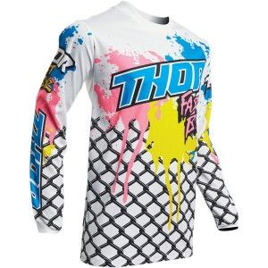 Thor Crossshirt Pulse Fast Boyz White