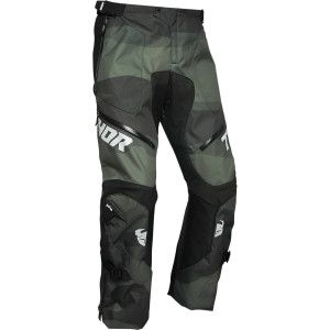 Thor Endurobroek Terrain Over The Boot Camo Green