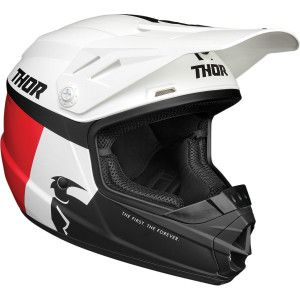 Thor Kinder Crosshelm Sector Red/White/Blue