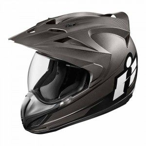 Icon Integraalhelm/Endurohelm Variant Double Stack Black