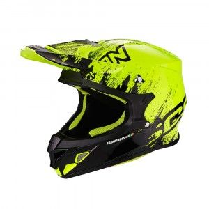 Scorpion Crosshelm VX-21 Air Mudirt Black/Neon Yellow-L