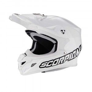 Scorpion Crosshelm VX-21 Air Solid White